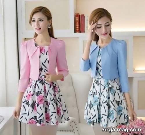 مدل پیراهن کره ای شیک