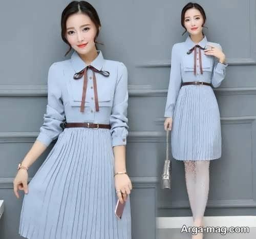 مدل ریبای پیراهن کره ای