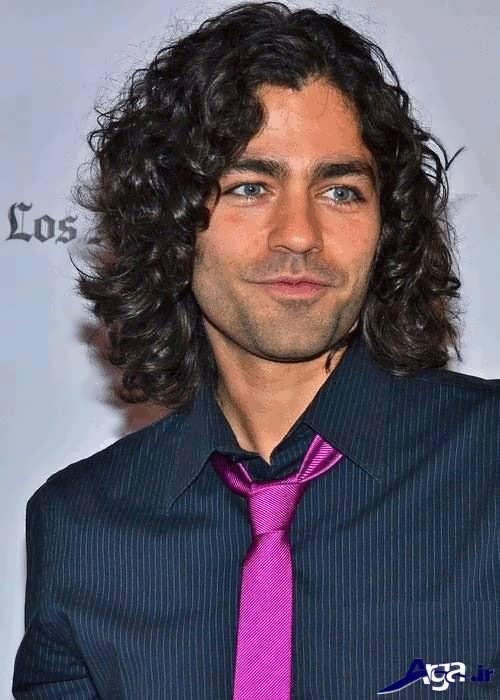 مدل موی فر بلند مردانه