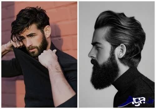 انواع مدل های زیبا و بلند موی مردانه