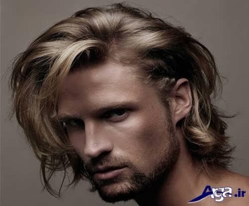 موی بلند مردانه زیبا