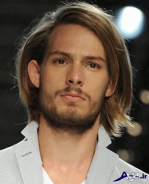 موی مردانه زیبا و بلند