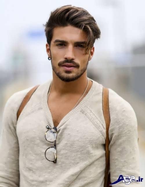 موی مردانه بلند با جدیدترین طرح های مد سال