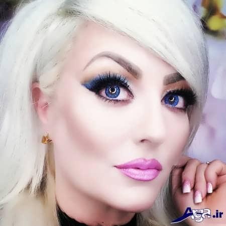 مدل آرایش برای صورت های کشیده و لاغر