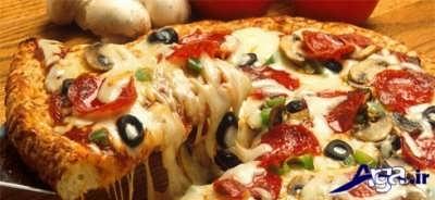 طرز تهیه پیتزا گوشت در منزل