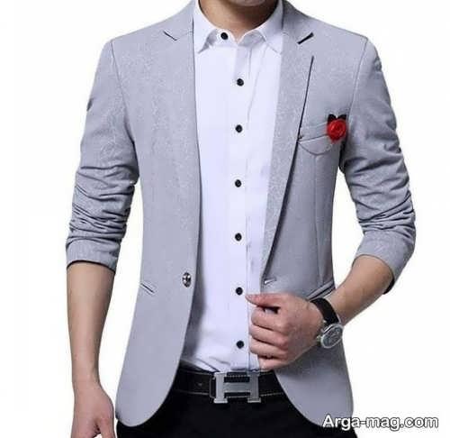مدلی از کت تک مردان