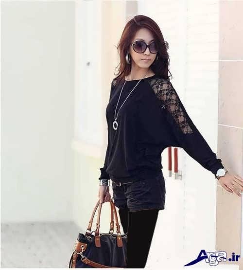 مدل بلوز زنانه کره ای