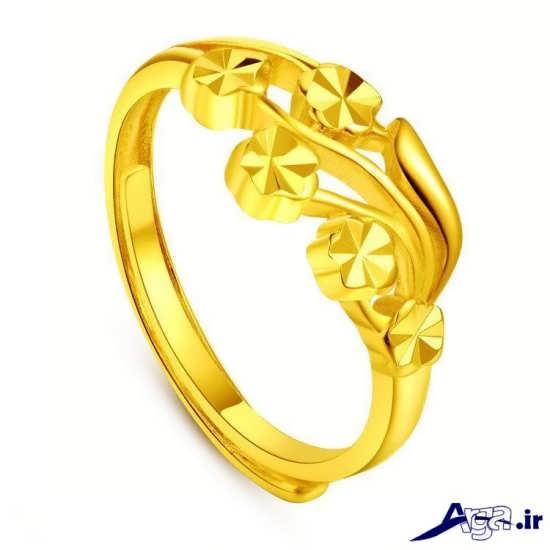مدل انگشتر طلای زیبا