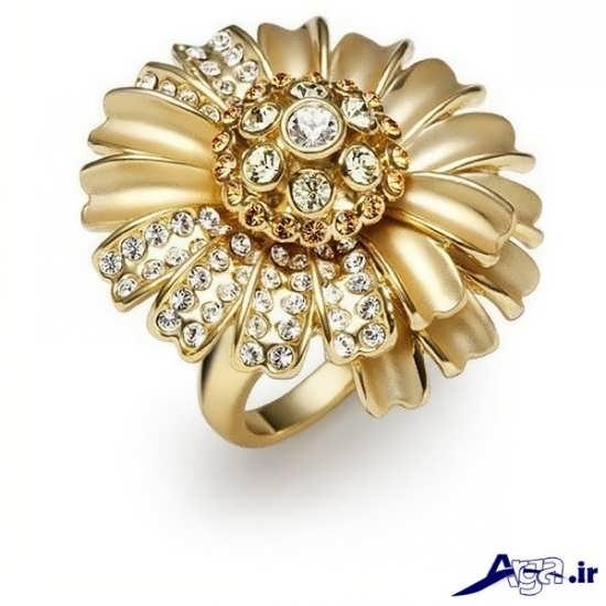 مدل انگشتر زنانه طلا با طرحی متفاوت