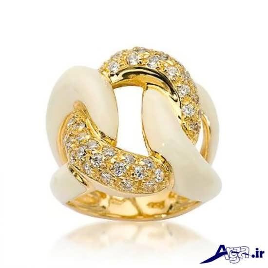 مدل انگشتر زنانه طلا با طرح های جالب