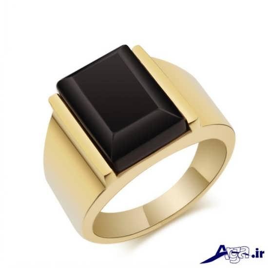 مدل انگشتر طلا مردانه
