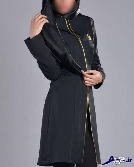 مدل مانتو کرپ رسمی