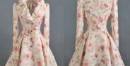 Model Manto floral
