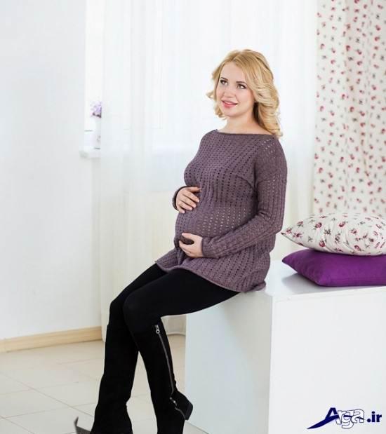 عکس بارداری در آتلیه