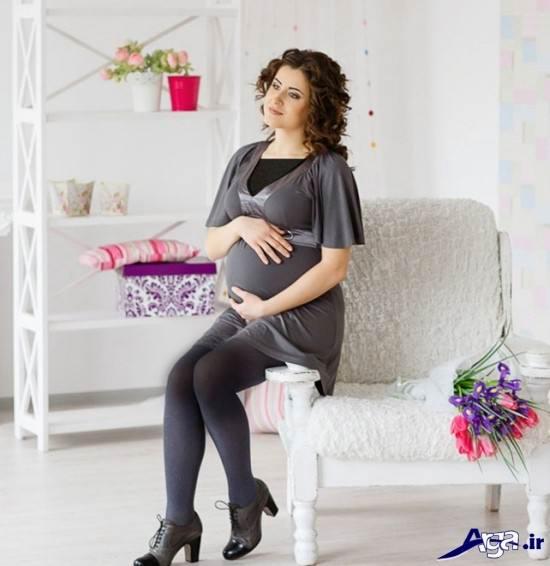 عکس بارداری با فیگور جدید