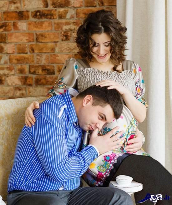 ژست عکاسی در دوران بارداری جدید