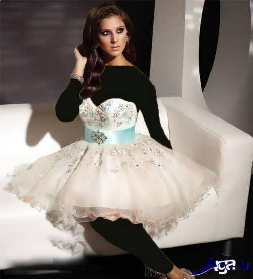 مدل های شیک و جدید لباس شب