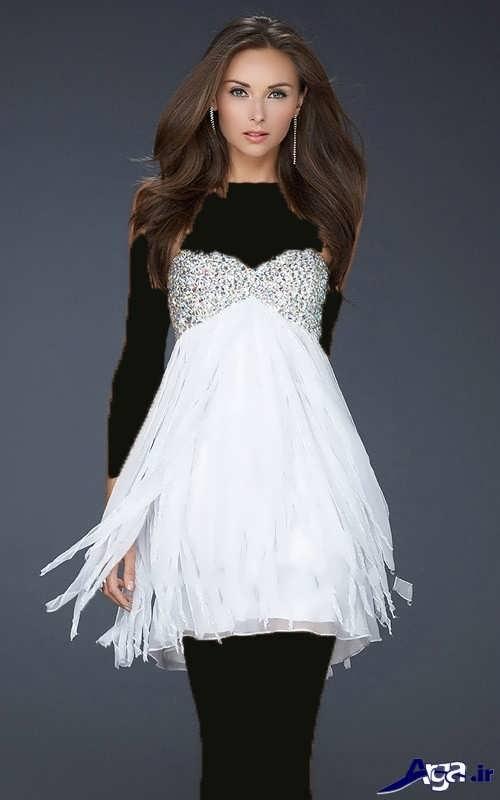 لباس شب کوتاه دخترانه