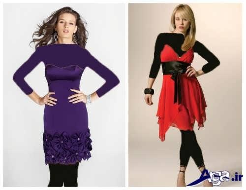 مدل های جدید و کوتاه لباس شب