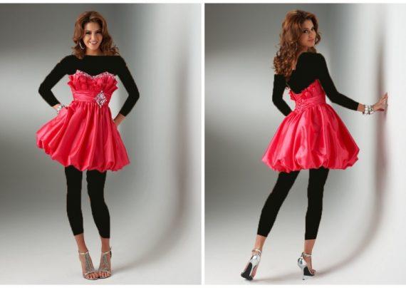 مدل لباس شب کوتاه با جدیدترین طرح های سال