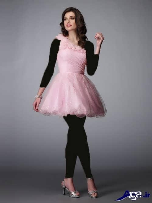 مدل لباس شب کوتاه زنانه