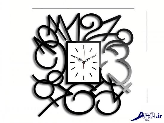 مدل ساعت دیواری مدرن