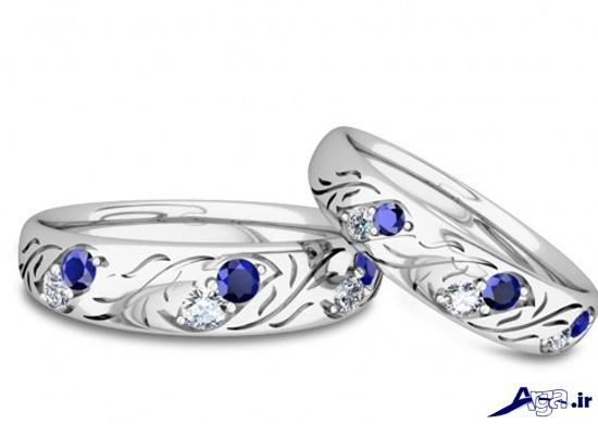 حلقه ازدواج جدید و زیبا