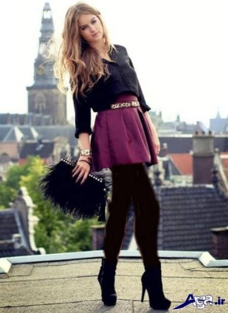 مدل دامن کلوش زیبا