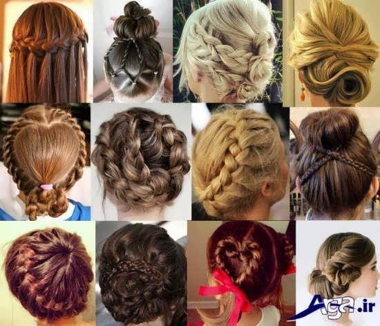 انواع مدل های متنوع بافت مو