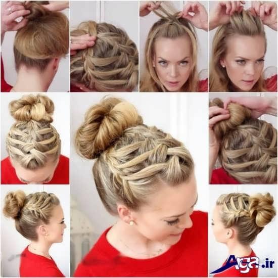 آموزش مدل بافت مو زیبا و جدید