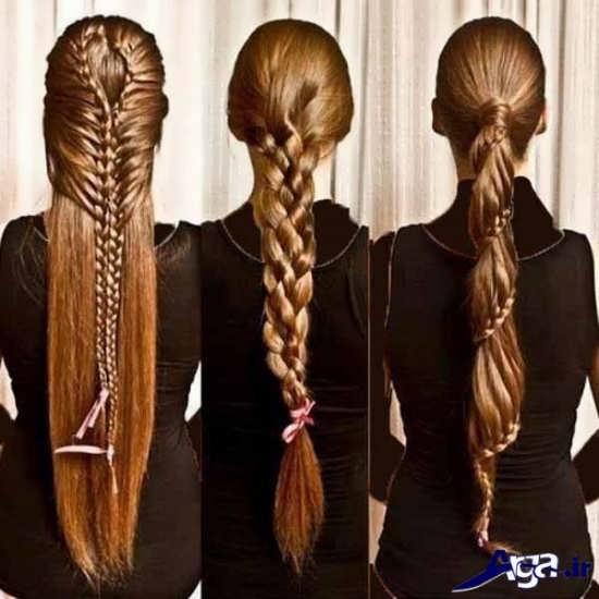 مدل های زیبا و متنوع بافت مو