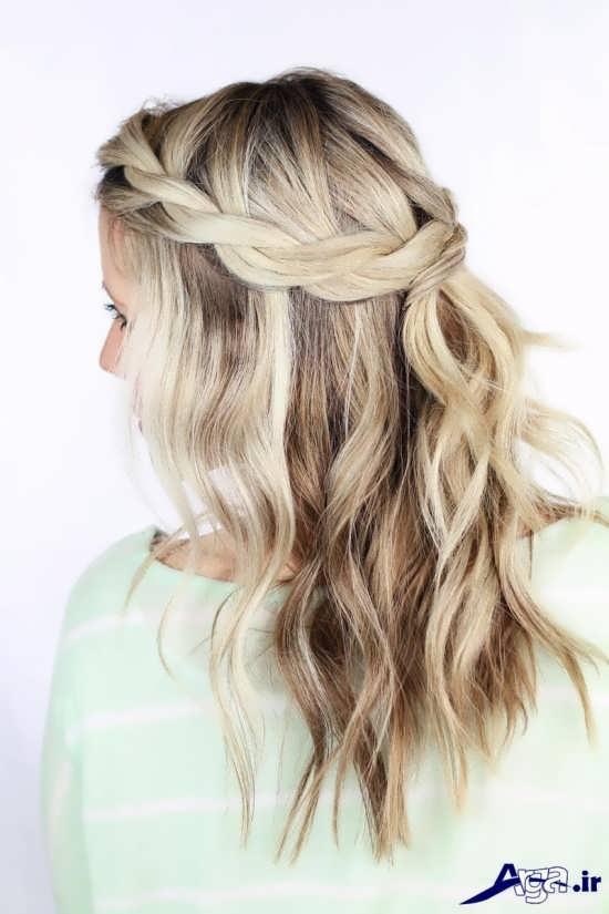 بافت مو زیبا و جذاب
