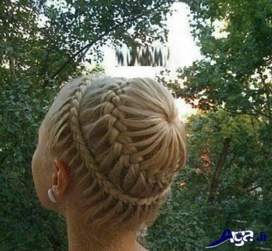 بافت مو زیبا برای موهای کوتاه و بلند