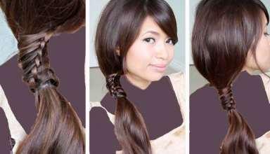 مدل بافت مو جدید و زیبا برای موهای کوتاه و بلند