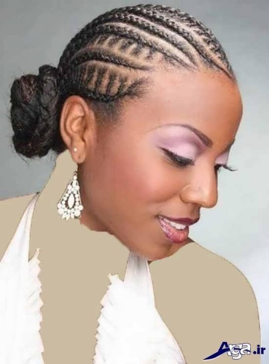 مدل بافت موهای آفریقایی