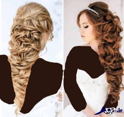 مدل موی نیمه باز