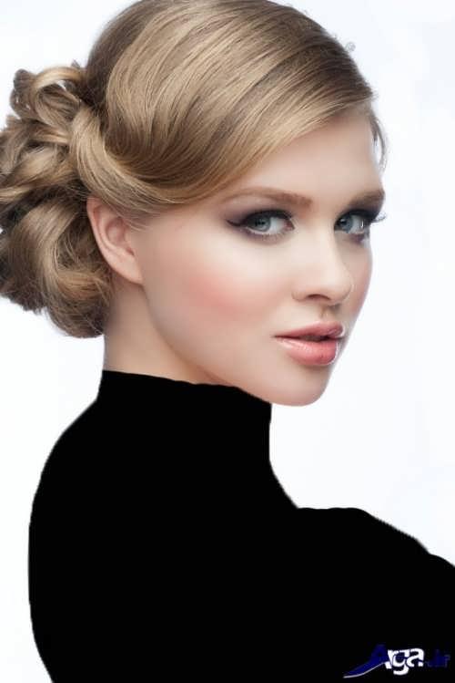 مدل شینیون جدید مو برای خانم های خوش سلیقه