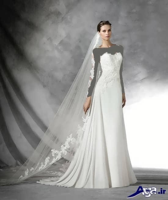 لباس عروس اروپایی زیبا و شیک