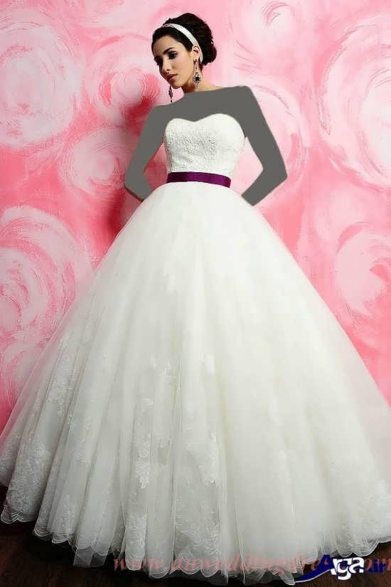 لباس عروس دامن پف دار