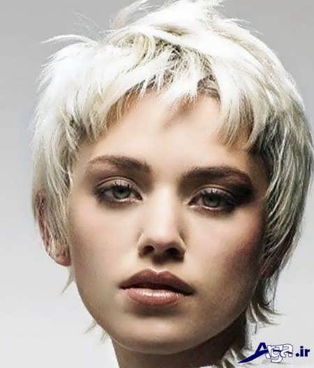 عکس رنگ موی استخوانی