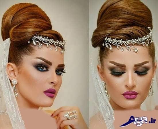 مدل های میکاپ عروس
