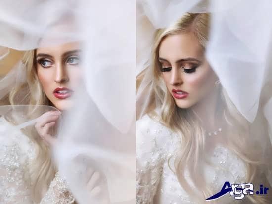 عکس آرایش مدرن عروس