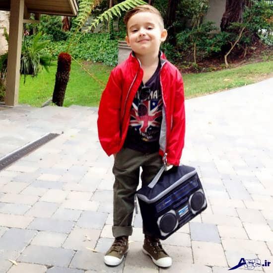 عکس پسربچه خوشتیپ و ناز