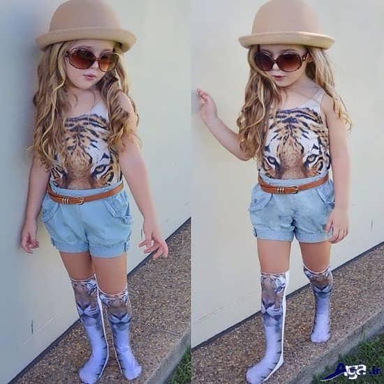 عکس دختربچه خوشتیپ