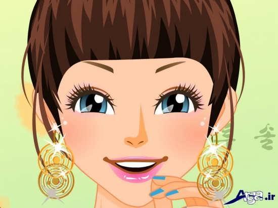 عکس کارتونی دختر برای پروفایل