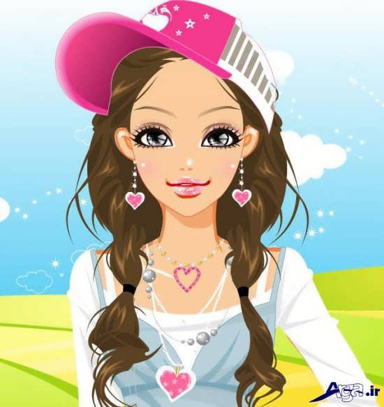 عکس کارتونی دخترانه