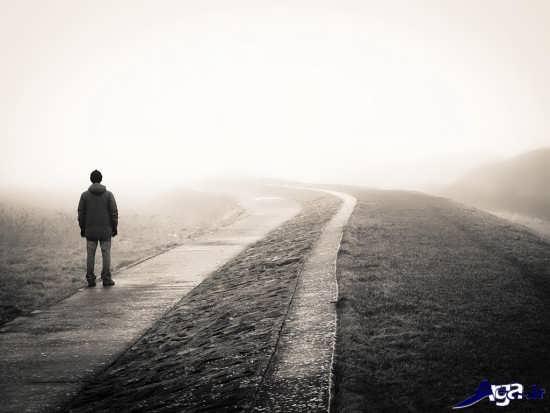 عکس تنهایی عاشقانه