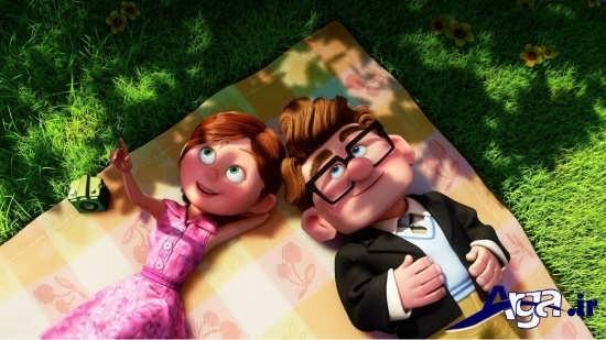 عکس های کارتونی جذاب عاشقانه