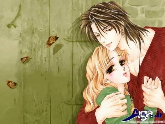 عکس آغوش کارتونی