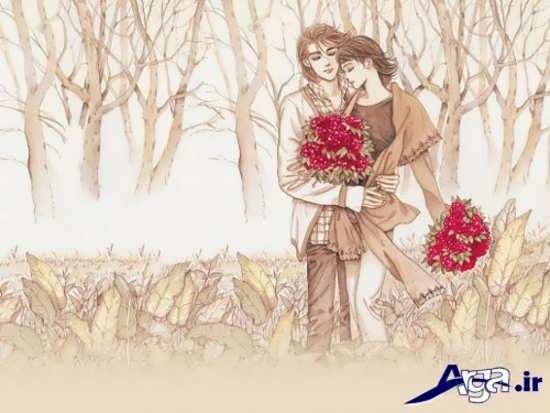 تصاویر فانتزی کارتونی عاشقانه